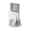 Stand Clock With Memo Holder