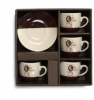 Stoneware Coffee Set