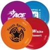 Transparent Frequent Flyers Frisbee