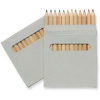 Twelve Coloured Pencil Set