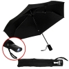 Umbrella With Led Flashlight & Pouch