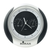 Weather Station Wall Round Clock