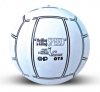 White Design Promotional Inflatable Beach Balls