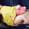 Wrist Wallet With Animal Toy