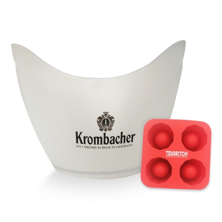 Kollaras & Co Ice Bucket and Custom Ice Tray
