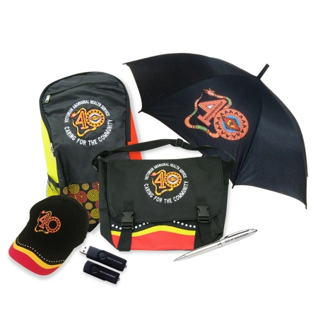 Victorian Aboriginal Health Service Giveaway items