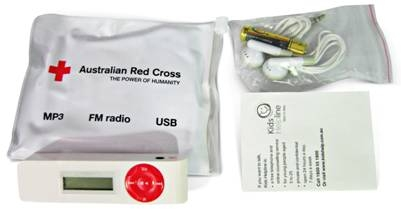 Red Cross MP3 Kit