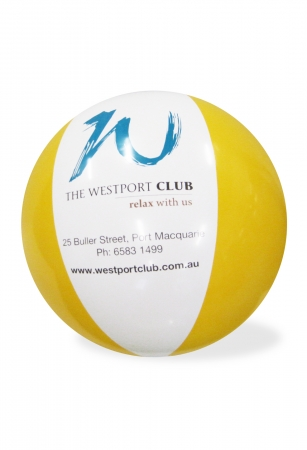 Westport Club Beach Balls