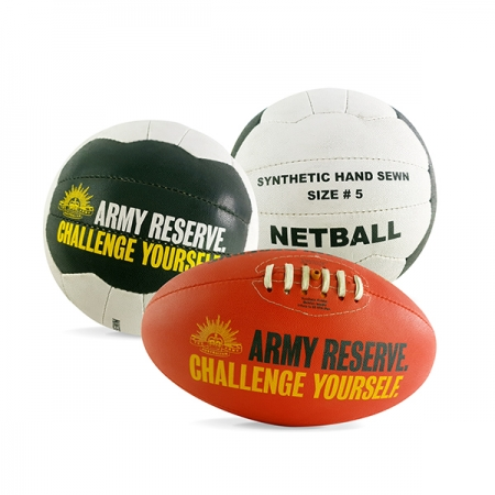 Army Reserve Sports Balls